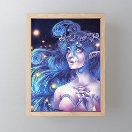 Fireflies Framed Mini Art Print