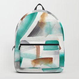 180719 Koh-I-Noor Watercolour Abstract 32| Watercolor Brush Strokes Backpack