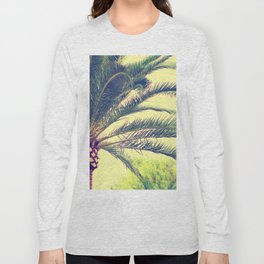 Summer feeling, palm trees in the south Long Sleeve T-shirt