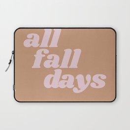 all fall days Laptop Sleeve