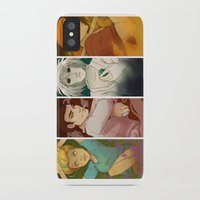 sandman iPhone & iPod Cases featuring Sandman Quartet by FindChaos