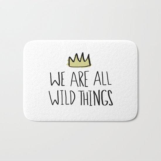 Wild Things Bath Mat