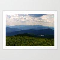 woodstock Art Prints featuring woodstock 01 by Evening Primrose