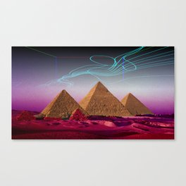 There's something out there Canvas Print