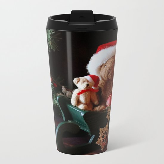 'Tis The Season Metal Travel Mug