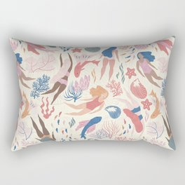 Almost Mermaid Rectangular Pillow