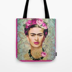 FRIDA KAHLO SACRED HEART Tote Bag