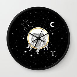 Gemini [Horoscope Collection] Wall Clock