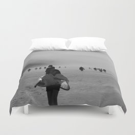 Disappear Into the Fog Duvet Cover