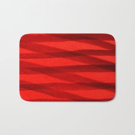 Scarlet Shadows Bath Mat