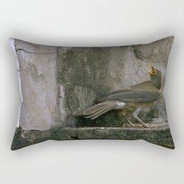 Big Eyed Grieve Rectangular Pillow