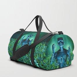 Virtual Dawn Duffle Bag