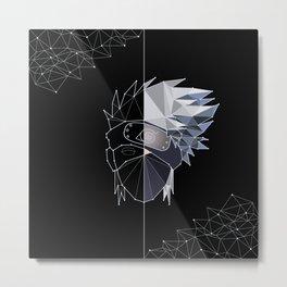 08   Constellation Kakashi Hatake   Naruto Metal Print
