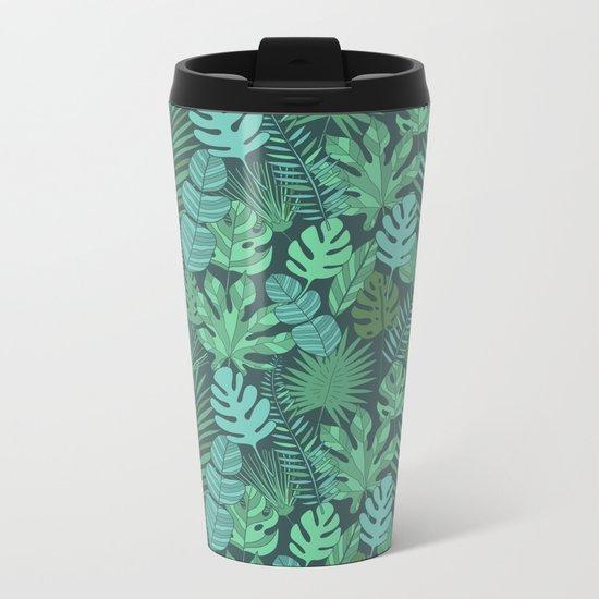 Tropical plantation Metal Travel Mug