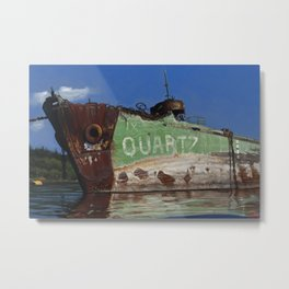 The Quartz Metal Print