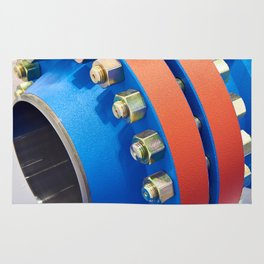 Ball valve for oil and gas industry Rug