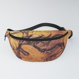 Fighting Rhinos // Chauvet Cave Fanny Pack