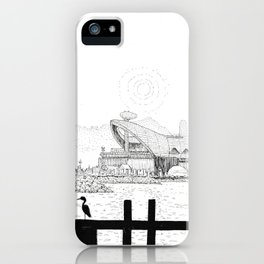 Hazy Afternoon iPhone Case