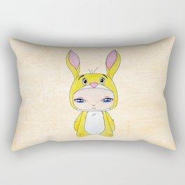 A Boy - Rabbit (coco lapin) Rectangular Pillow