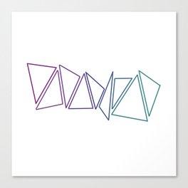 Trangles Canvas Print