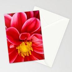 Daring Dahlia Stationery Cards