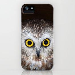 Owl Get Your Ass iPhone Case
