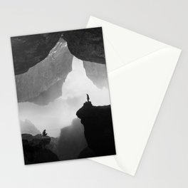 Parallel Isolation Stationery Cards