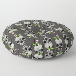 The Inevitable Cycle Pattern Floor Pillow