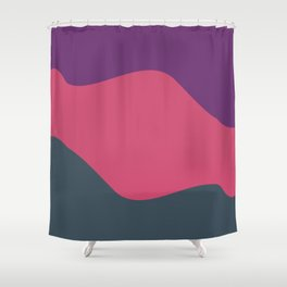 Abstract | Leela Shower Curtain