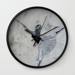 Dancer 6 Wall Clock