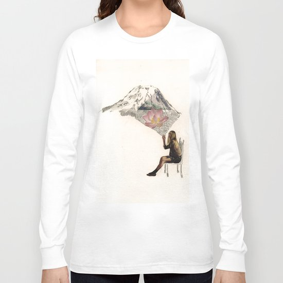 Imagination is more important than knowledge. Knowledge is limited. Long Sleeve T-shirt
