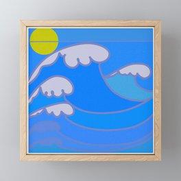Sunshine Ocean Framed Mini Art Print