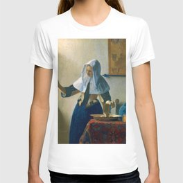 """Johannes Vermeer """"Young Woman with a Water Pitcher"""" T-shirt"""