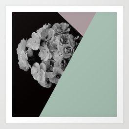 boquet too Art Print