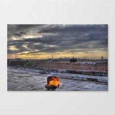 Barbecue Canvas Print
