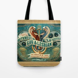Southwest Gay & Lesbian Film Festival 2014 Tote Bag