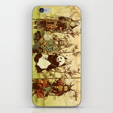 Hanging Out iPhone & iPod Skin