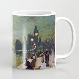 John Atkinson Grimshaw Reflections on the Thames Coffee Mug