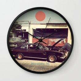 Monterrey Mechanic Wall Clock