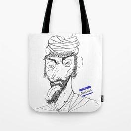 Sketchy Prophet Tote Bag