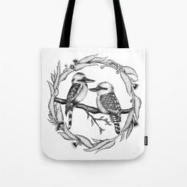 Kookaburra Wreath Tote Bag