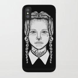 Addams iPhone Case
