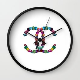 Precious Diamonds Wall Clock