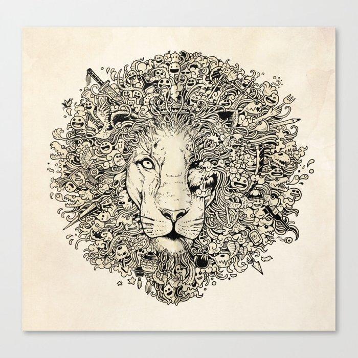 The King's Awakening Canvas Print