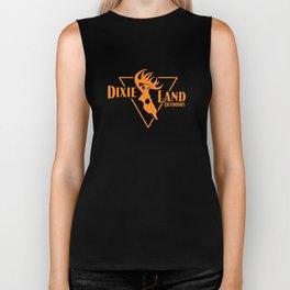 Dixie Land Outdoors Men's Long Sleeve Bowhunter Deer Skull Bow Hunt T-Shirts Biker Tank
