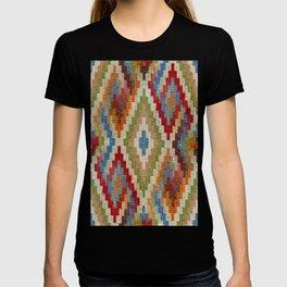 kilim rug pattern T-shirt