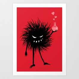 Evil Bug Made A Love Potion For You Art Print