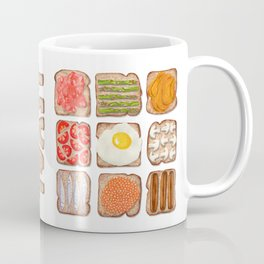Breakfast Toast Coffee Mug