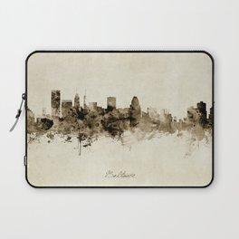 Baltimore Maryland Skyline Laptop Sleeve