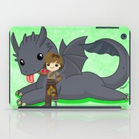 how to train your dragon iPad Cases featuring How to Train Your Dragon 2 by Mayying